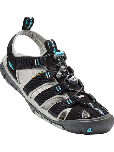 Keen W's Clearwater CNX Sandals Black/Radiance